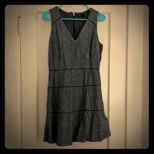 Gap blue linen dress